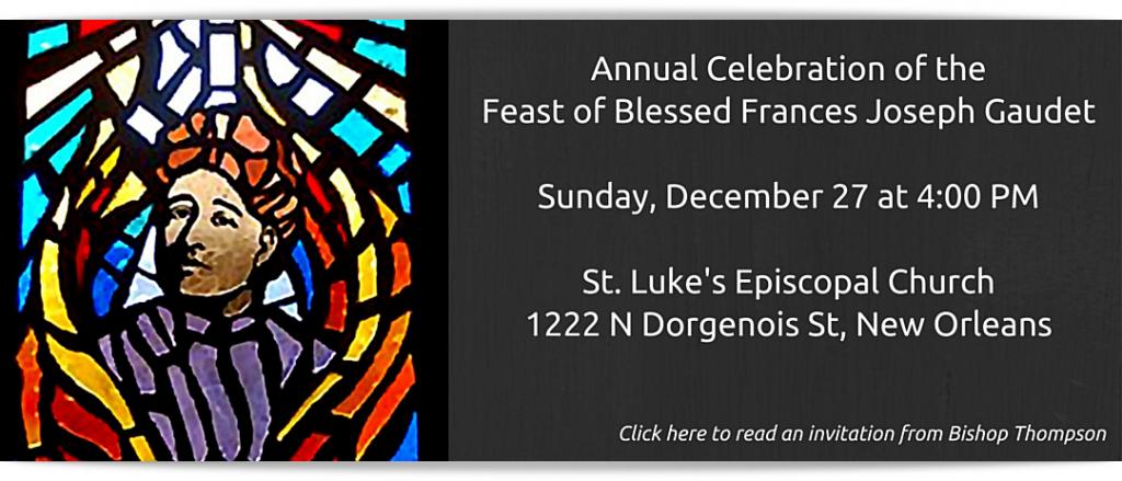 Feast of Blessed Frances Joseph Gaudet (1)