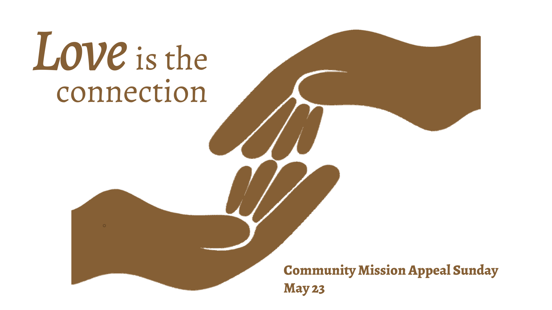 Community Mission Appeal Sunday is May 23